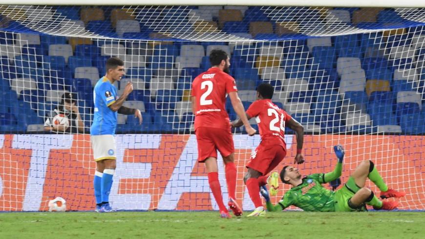 «Спартак» обыграл «Наполи» в матче группового этапа Лиги Европы