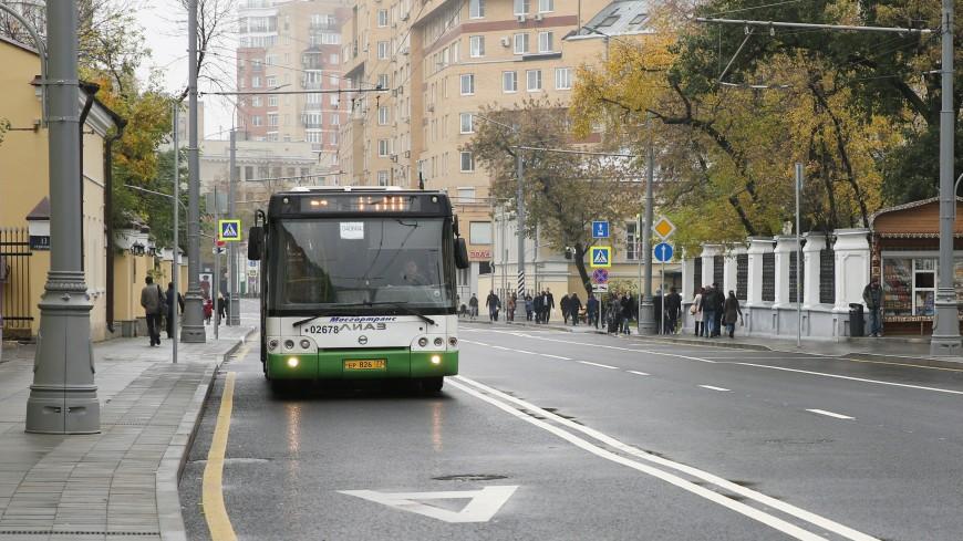 В Москве появятся новые выделенные полосы