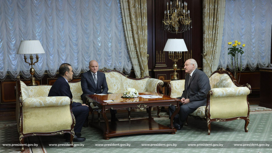 Лукашенко обсудил ситуацию в Афганистане с главой Комитета нацбезопасности Казахстана