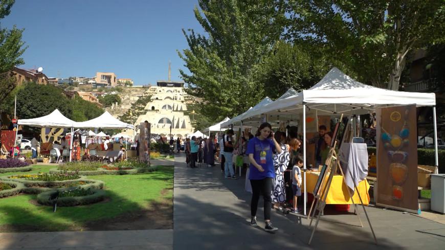 Город мастеров: в центре Еревана собрались лучшие ремесленники страны