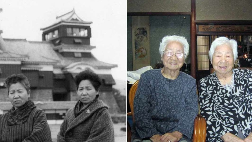 107-летние сестры из Японии признаны старейшими близнецами в мире