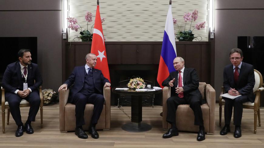 Путин и Эрдоган обсудили «Турецкий поток», АЭС «Аккую», коронавирус и Сирию