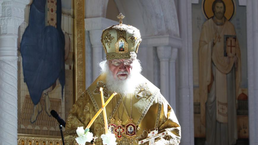 Патриарх Кирилл освятил воссозданный Александро-Невский собор в Волгограде