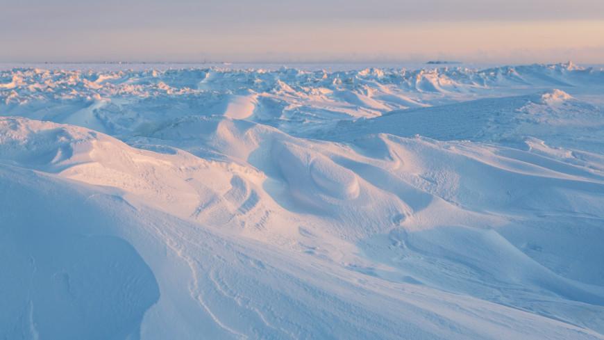 Названа причина аномально холодной зимы в Арктике