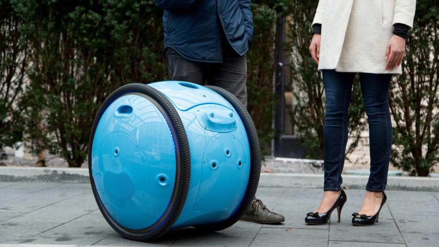 Итальянцы создали передвижной робот-рюкзак