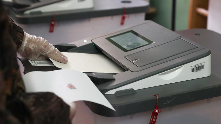 Человек в костюме водолаза и ластах проголосовал в Рязанской области