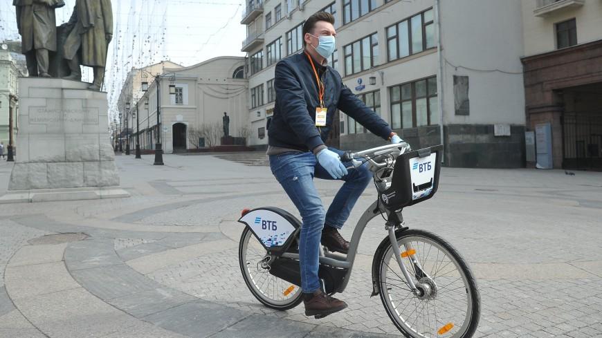 Бесплатное время велопроката в Москве увеличили до одного часа
