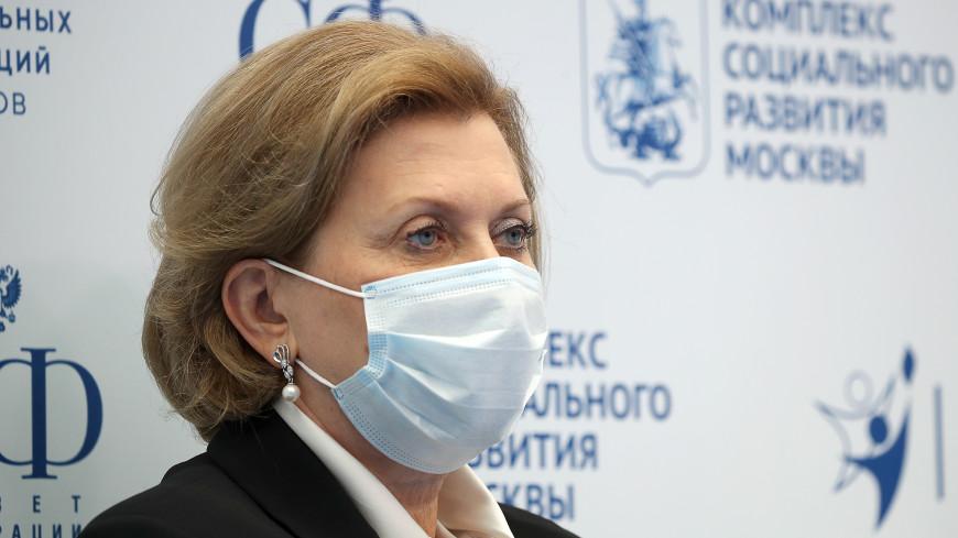 Попова рассказала о небольшом количестве привитых, умерших от COVID-19