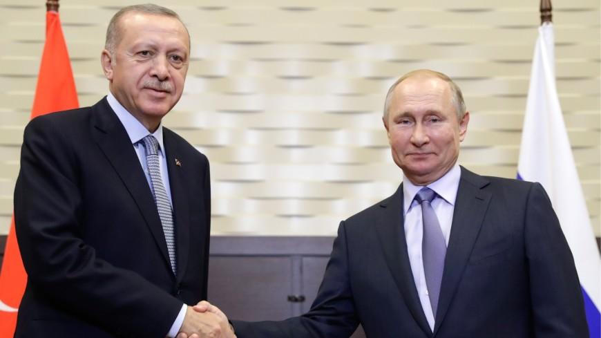 Путин и Эрдоган приступили к переговорам в Сочи