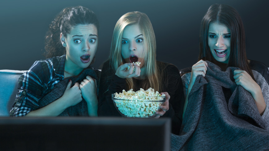 Фильмы ужасов помогают побороть тревожное расстройство