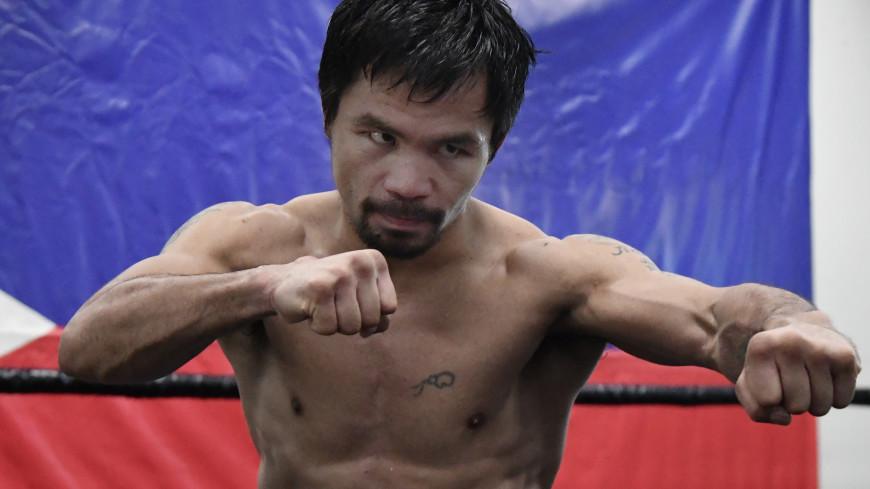 Спортдайджест: боксер Пакьяо метит в президенты, арена имени Роналду, женский футбол в горах