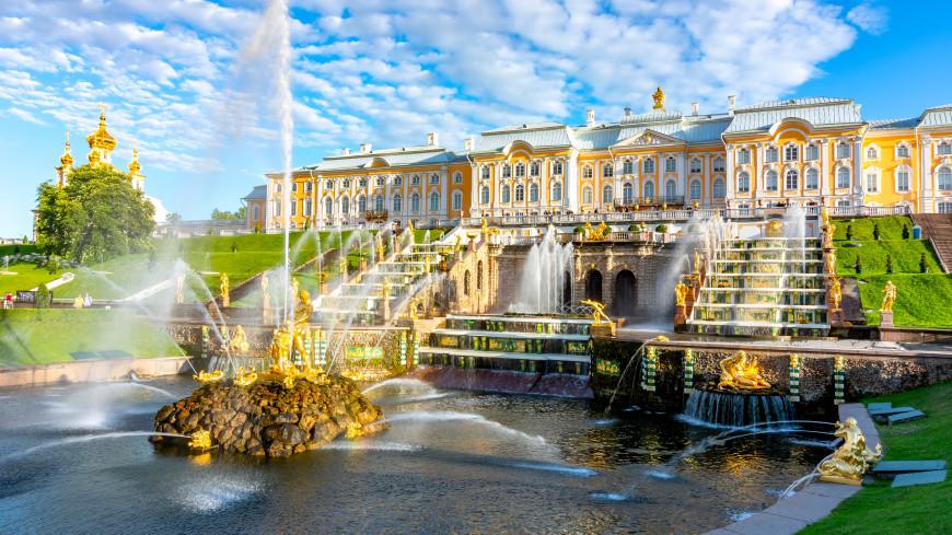 В Нижнем парке «Петергофа» отключат фонтаны