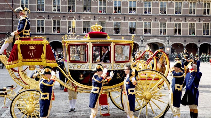 Конец эпохи: золотую карету короля Нидерландов отправили в музей