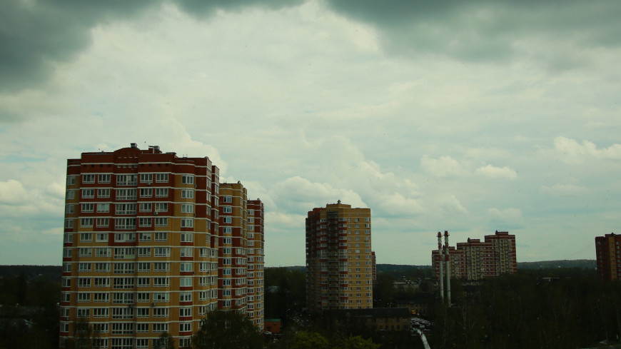 В Москве до конца дня ожидается шквалистый ветер