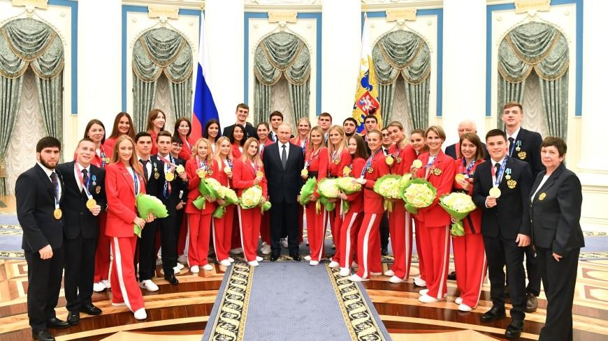 Путин назвал победителей Олимпиады в Токио гордостью страны