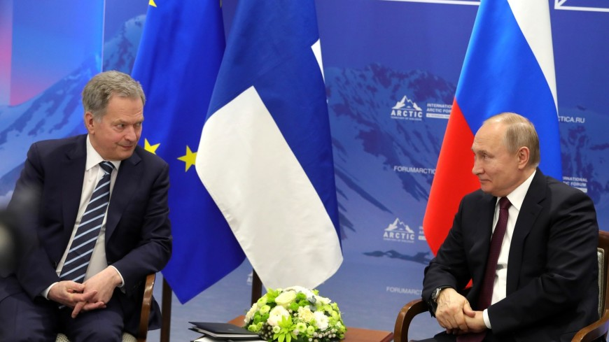 Президенты России и Финляндии обсудили по телефону Арктику и Афганистан