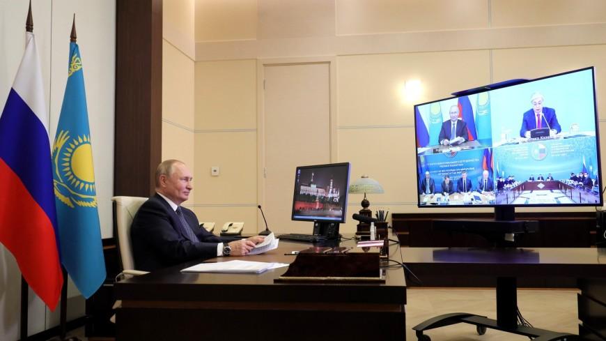 Токаев предложил Путину принять совместную программу по развитию мультимодальных перевозок