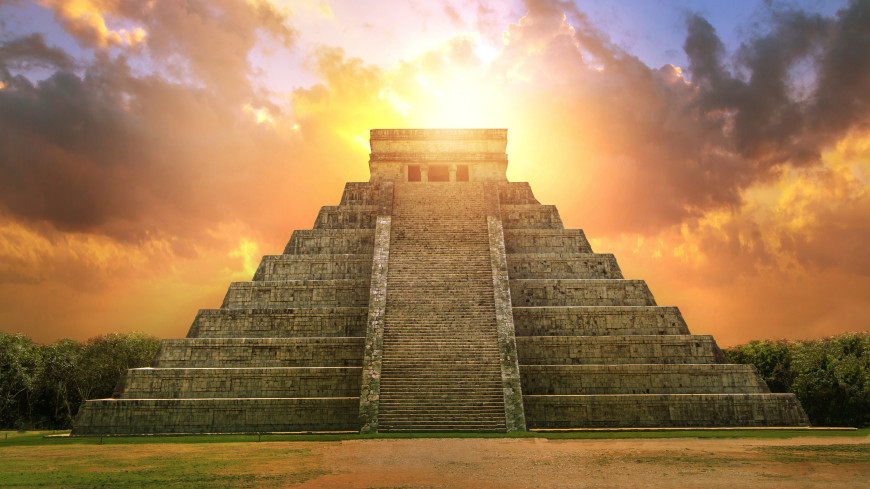 Пирамиды майя служили для защиты от извержений вулканов