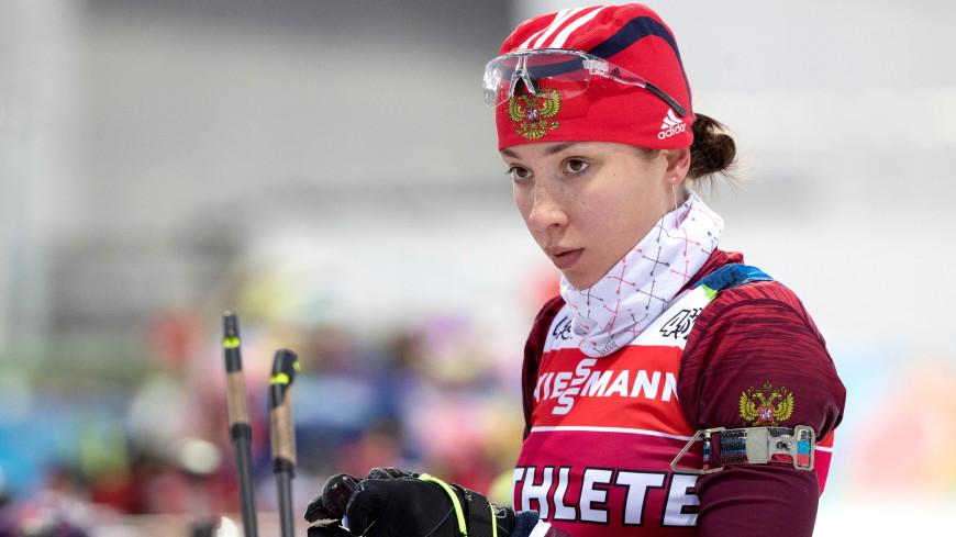 Травма спины мешает тренироваться биатлонистке сборной России Кайшевой